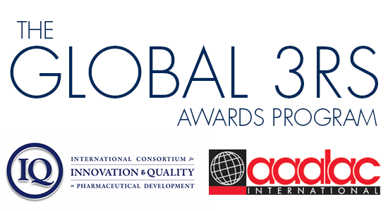 IQ and AAALAC Launch 2nd Annual Global 3Rs Award