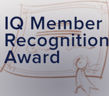 Recipients of Third Quarter IQ Member Recognition Award Announced!