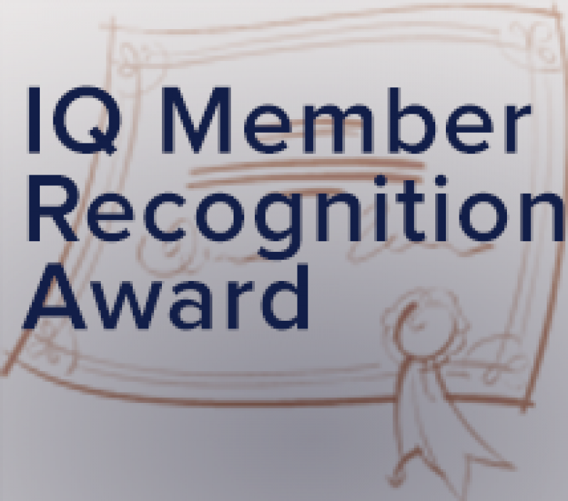 Recipients of Third Quarter IQ Member Recognition Award Announced!